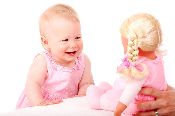 Your Baby Loves Playing Silly Games With You