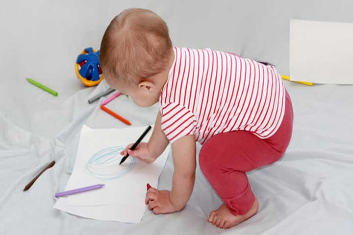 Creativity Alert! Your Baby Is Ready For Some Doodling!