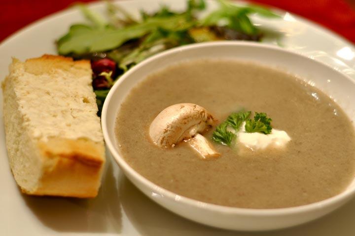 Immune Boosting Mushroom Soup