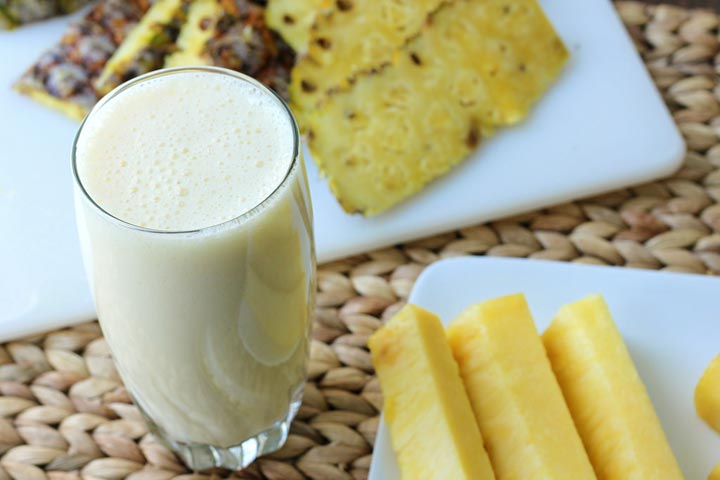 Yummy Pineapple Smoothie