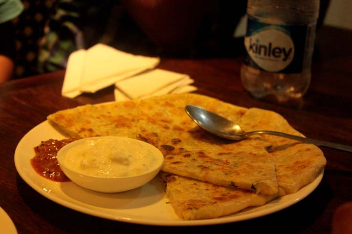 Cabbage Cheese Paratha