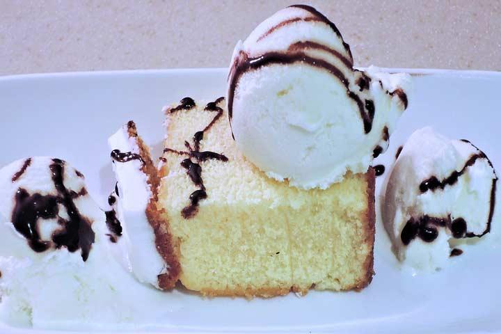 Healthy Vanilla Cake