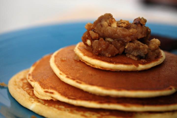Yummy Pumpkin Pancakes