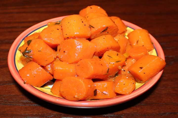 Sweet And Tasty Honey Glazed Carrots