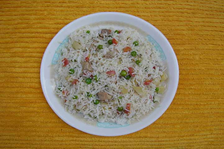 Simple And Tasty Chinese Vegetable Pulao