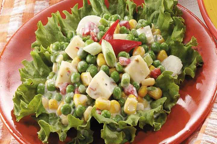 The Health Benefits Of Peas, Corn, And Paneer In One Bowl