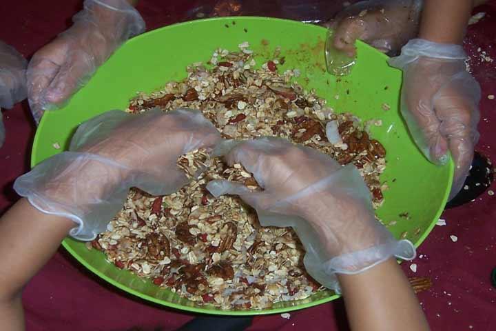 High Energy Homemade Granola