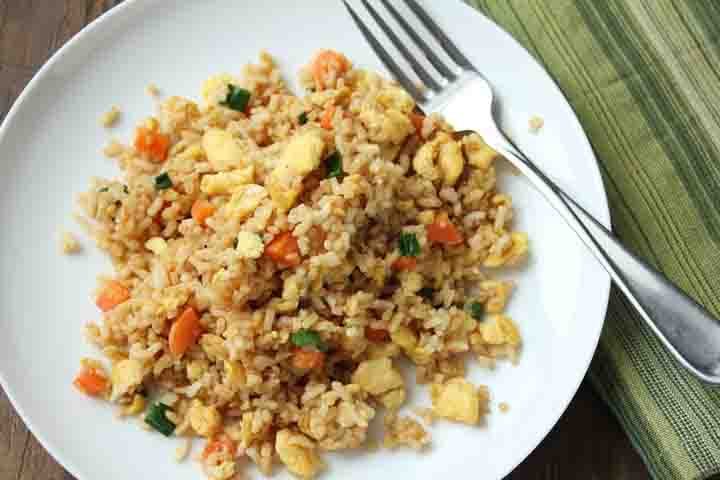 Indian Style Egg Rice