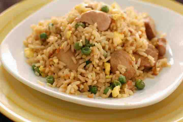 Orangy Chicken Pulao