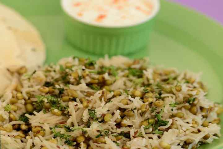 Mixed Sprout Khichdi