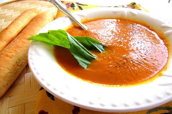 Nutritious Carrot Tomato Soup
