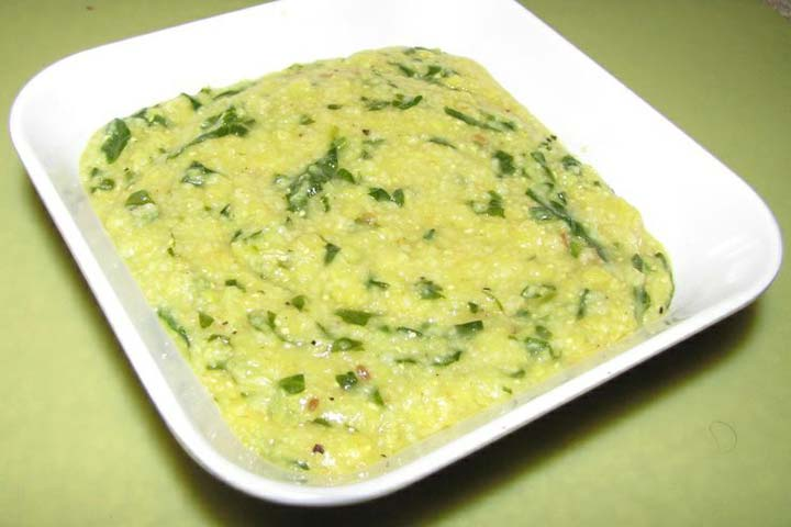 Meal In A Bowl - Spinach, Moong, And Masoor Dal Khichdi