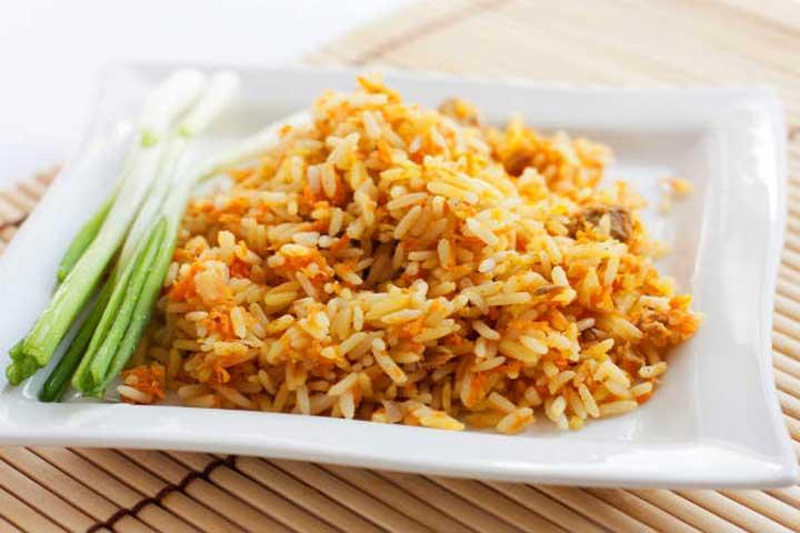 Yummy Carrot Rice