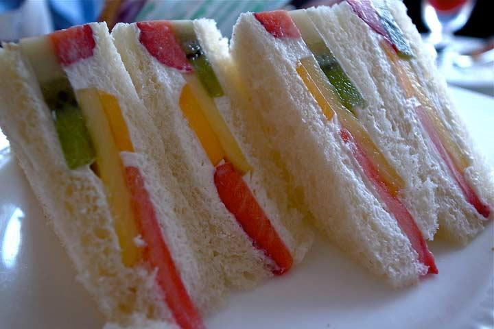 Fruity Munch Sandwich