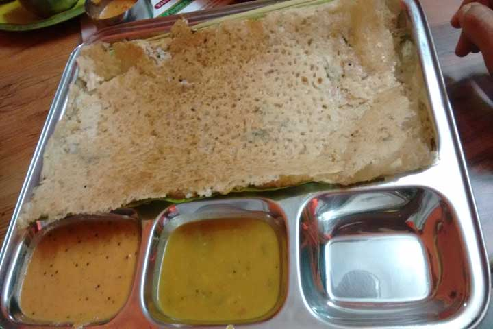 Thinai (Foxtail Millet) Dosa For Your Smart Child