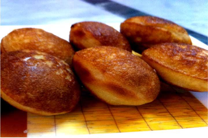 Banana, Wheat, Ragi Paniyaram