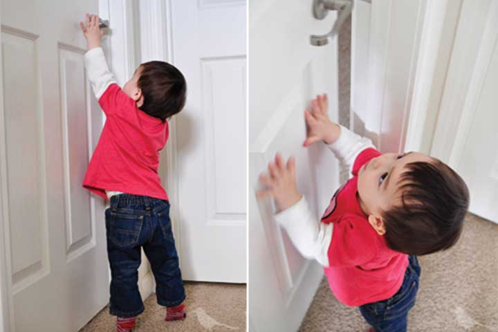 Your Sweetheart is Growing up and is Now Capable of Opening the Door!