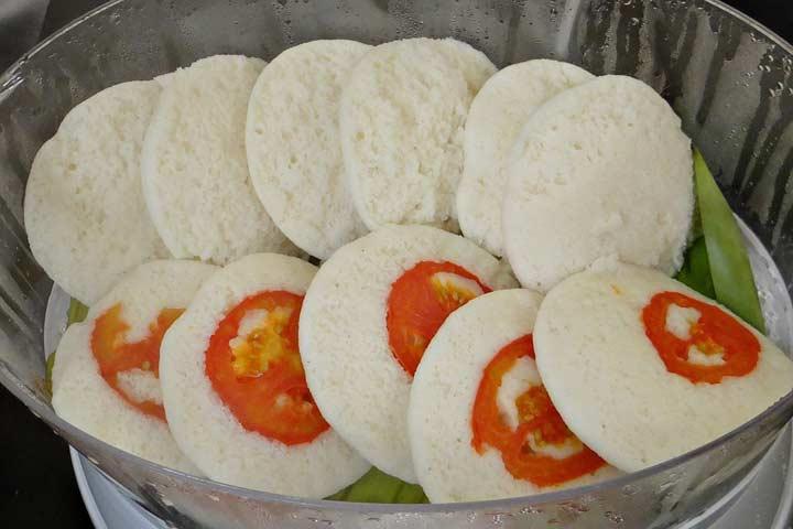 Nutritious Egg Idli Treat