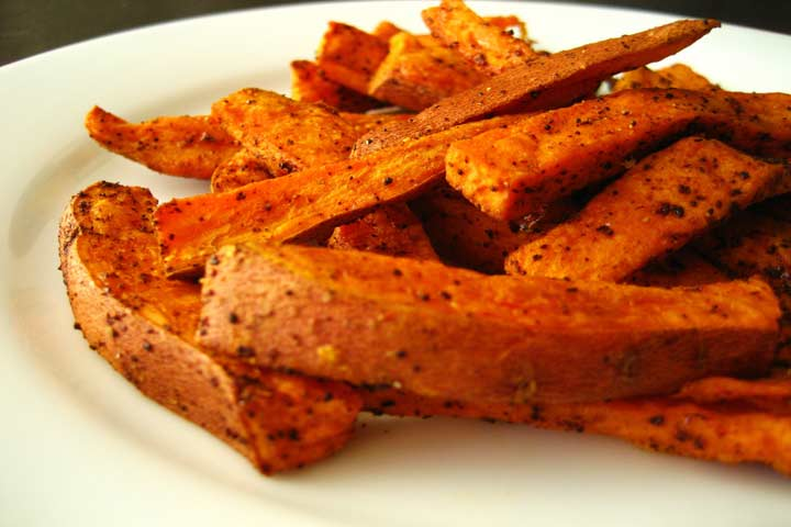 Mineral Loaded Sweet Potato Fries