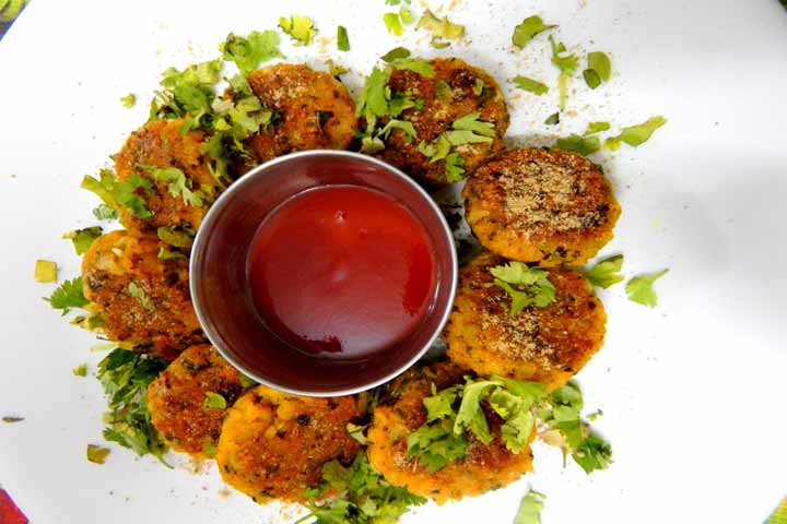 Nutritious, Delicious And Crispy Poha Cutlets