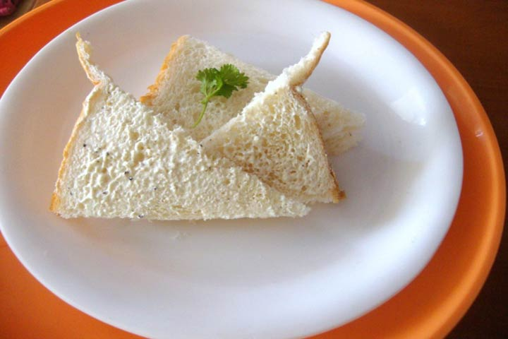 Calcium Loaded Breakfast - Hung Curd Sandwich