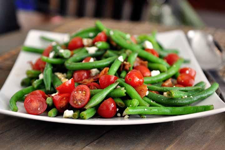 Iron Rich Green Bean Salad
