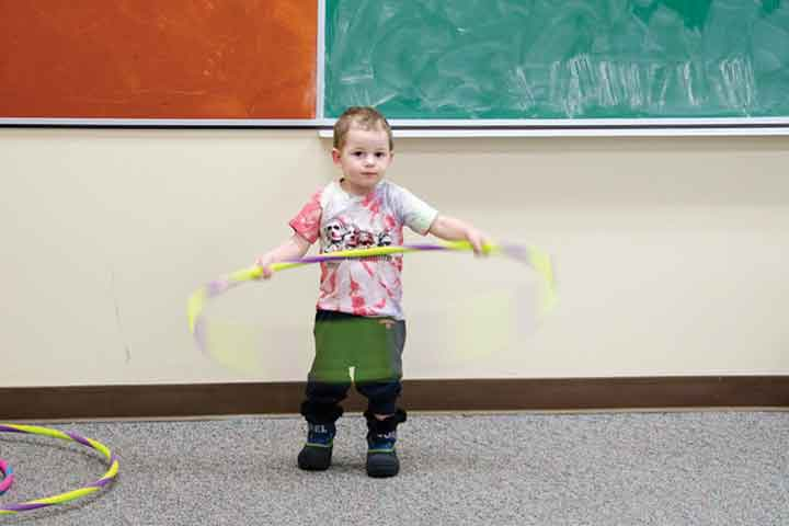 Run, Toss or Hula Hoop! Your Child is Now Ready For More Sensory Games