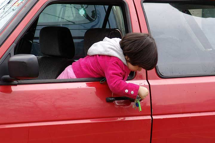 Your Child Can Now Learn the Important Task of Locking/Unlocking Doors