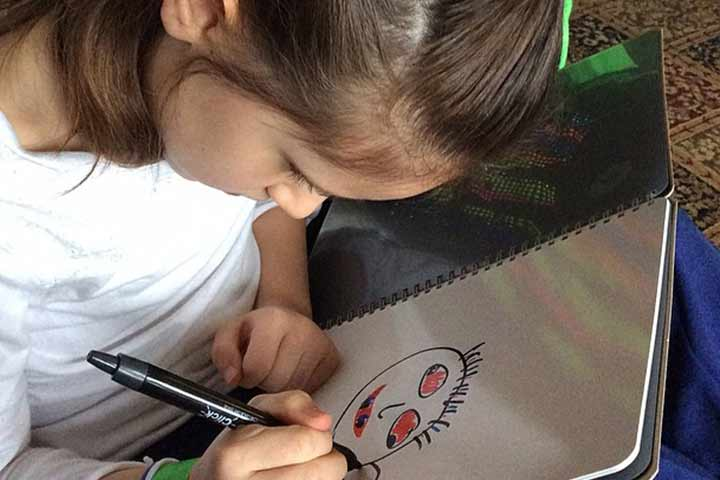 Your Little One Has Started Exploring Her Imaginative Skills