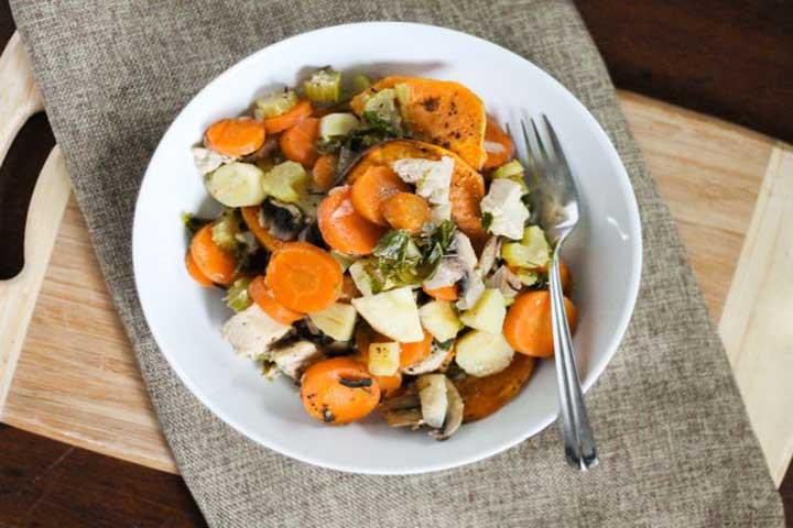 5 Vegetable and Chicken Casserole