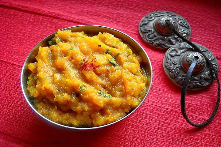Aaddu KI Sabji