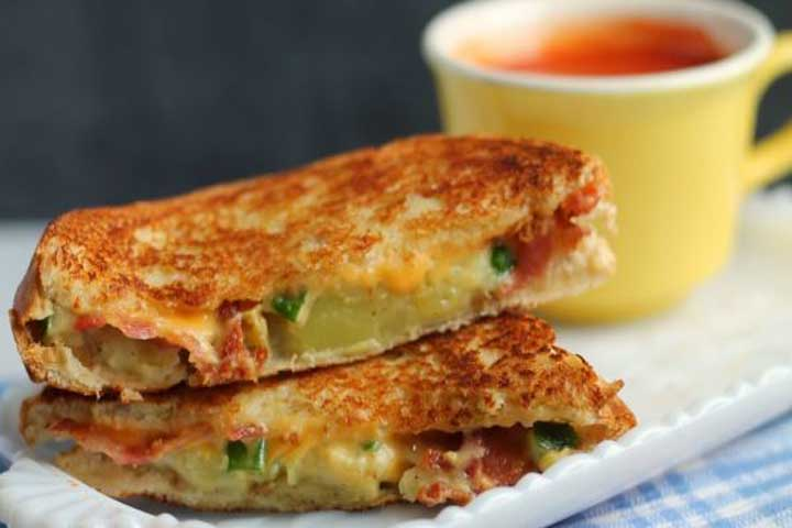 Aloo Grilled Sandwich