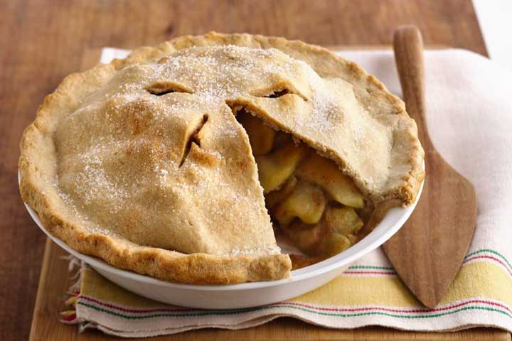 Eggless Apple Pie