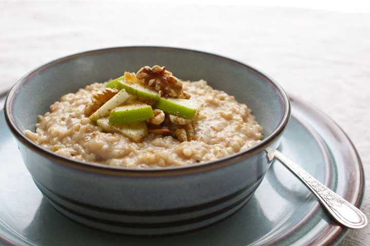 Apple and Oats Porridge