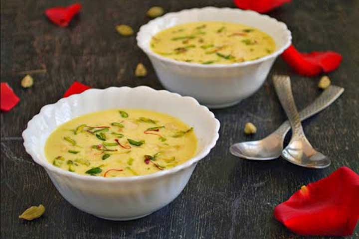 Gujarati Dessert - Basandi