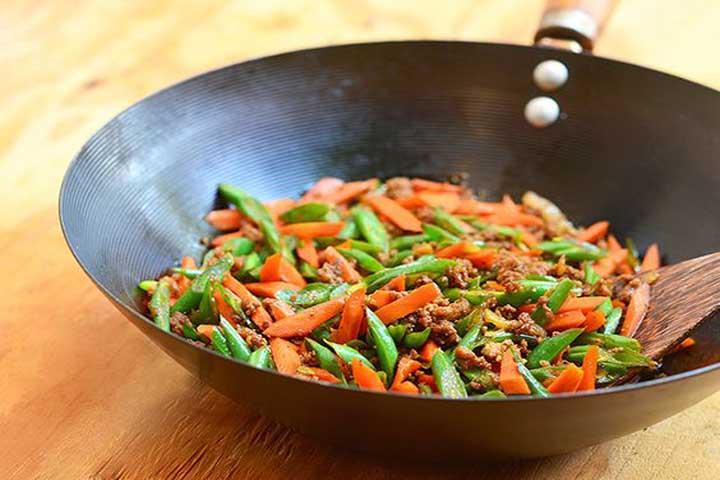 Beans Carrots Stir Fry