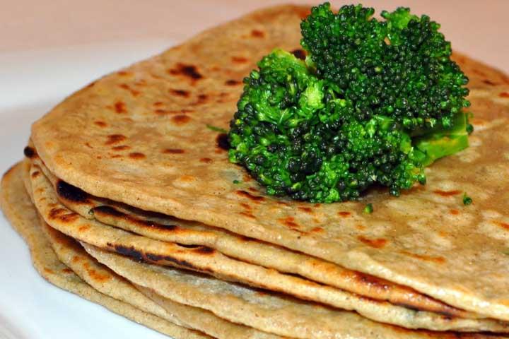 Wholesome Broccoli Parathas