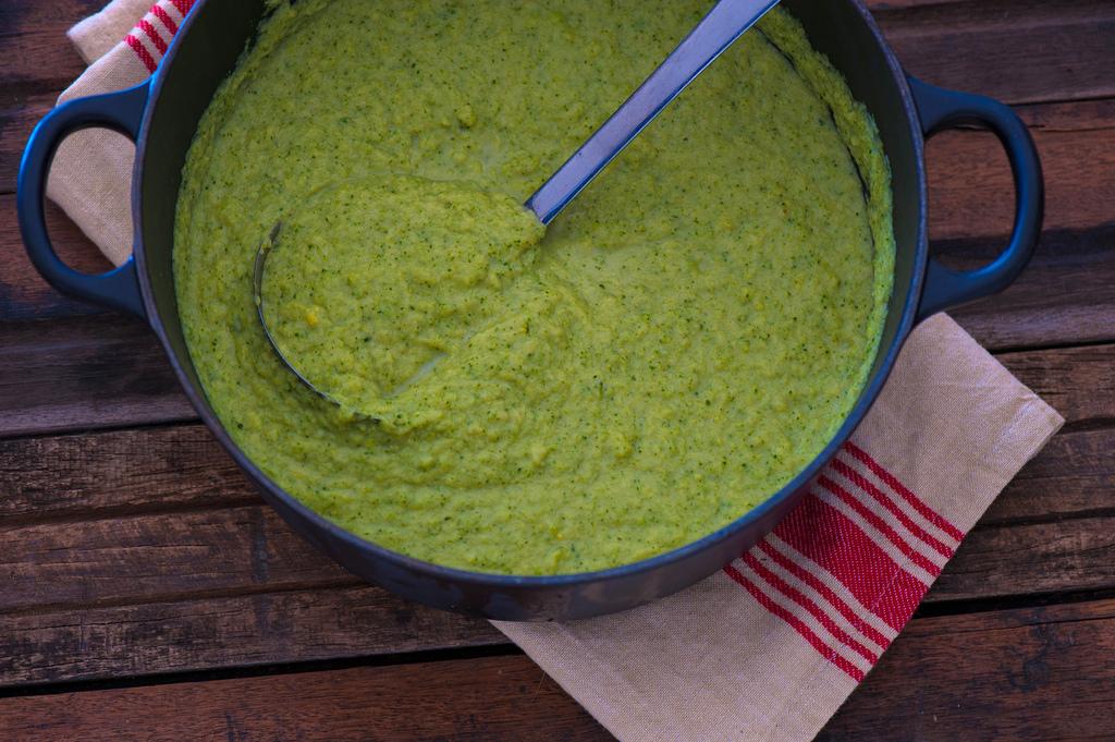 Broccoli And Cauliflower Puree