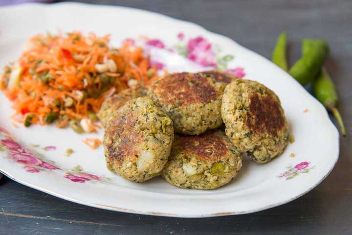 Healthy and Crunchy Broken Wheat Cutlets
