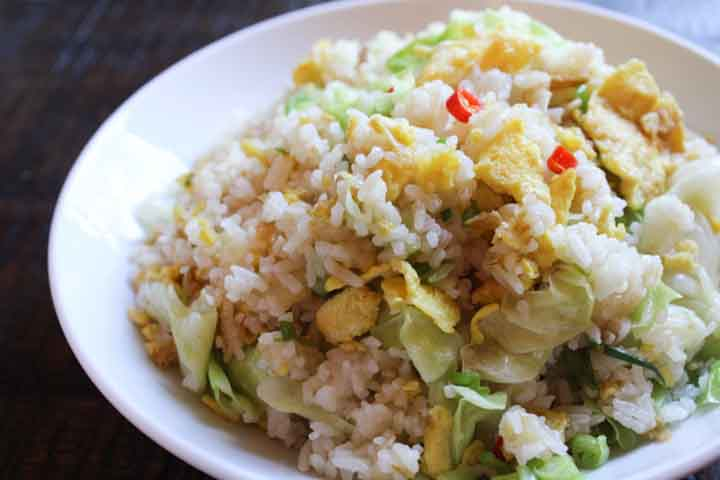 Delicious Cabbage Fried Rice