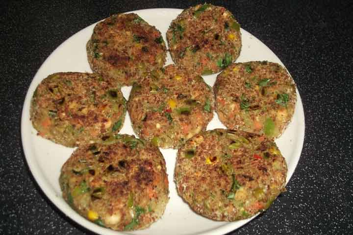 Carrot And Baby Corn Cutlet