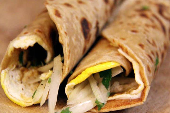 Delicious Chapatti Wraps