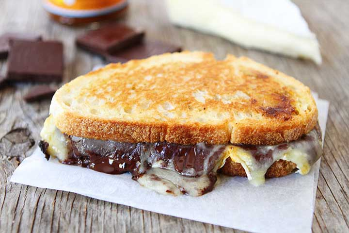 Cheese Chocolate Sandwich