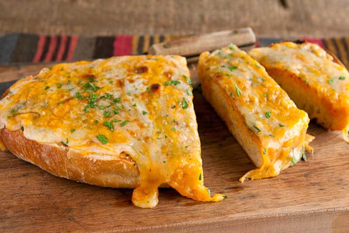 Super Yummy Cheese Garlic Toast!