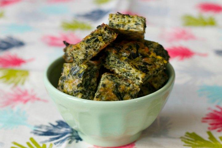 Cheesy Spinach Bites