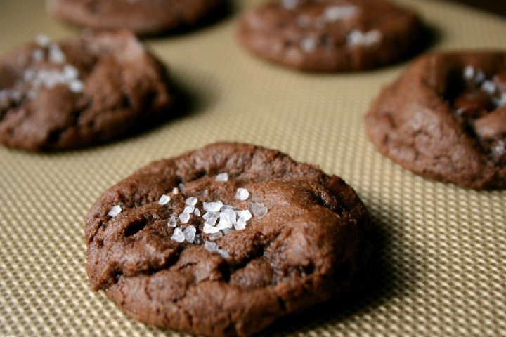 Finger Licking Chocolate Fudge Cookies