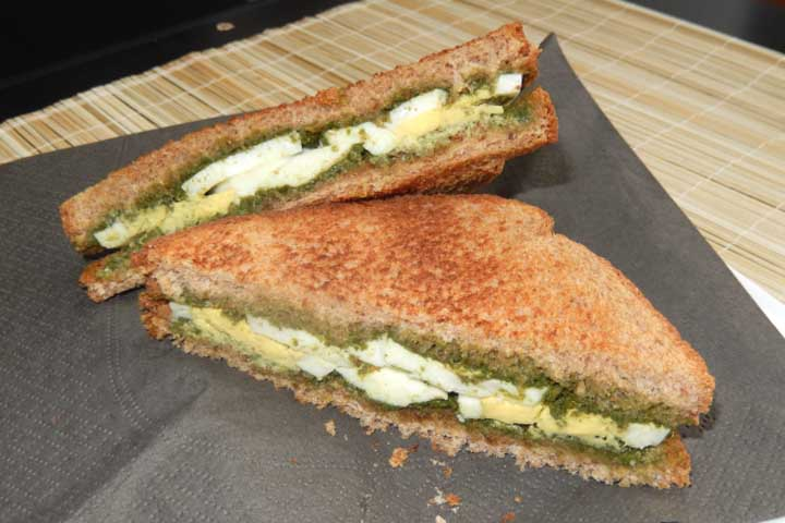 Chutney Egg Sandwich