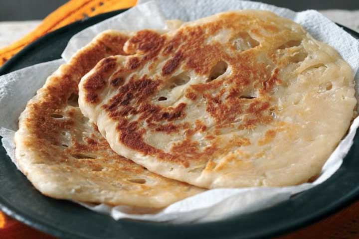 Coconut Sweet Paratha
