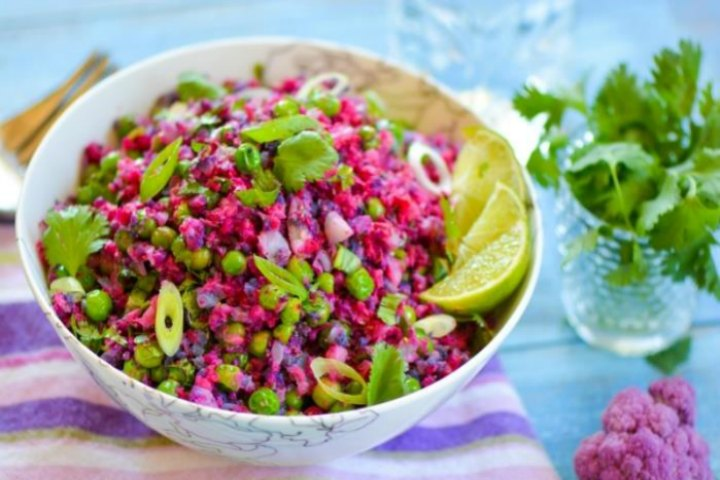 Colorful Cauliflower Rice