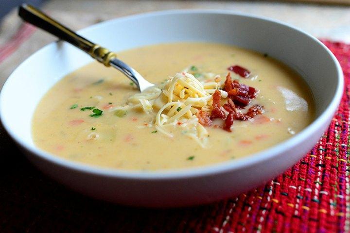 Yummy Creamy Chicken & Potato Soup